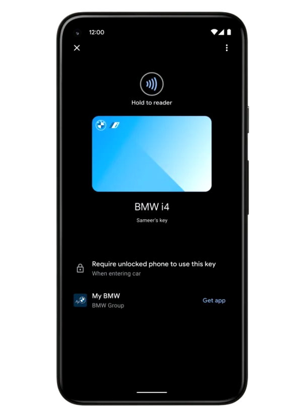 Android 12 Google BMW